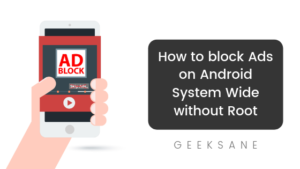 How to block Ads on Android System Wide without Root